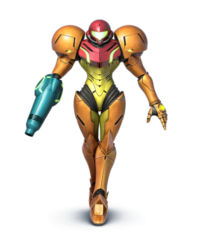 Arte super smash bros wii u 3ds criticsight imagen samus