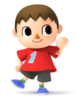 Arte super smash bros wii u 3ds criticsight imagen villager