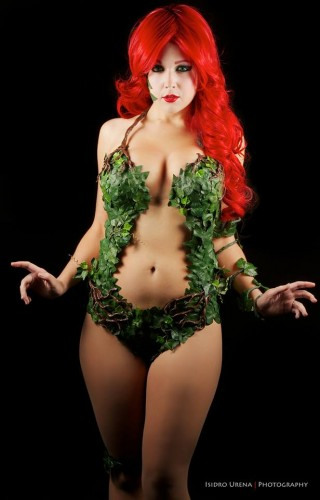 Fotos cosplayers criticsight poison ivy 1