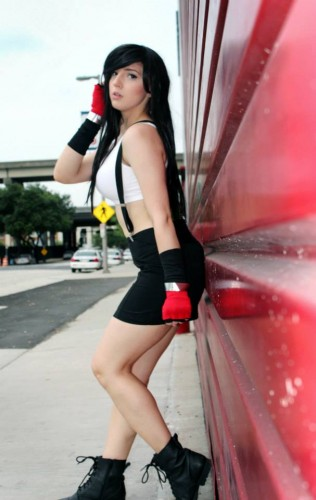 Fotos cosplayers criticsight tifa 3