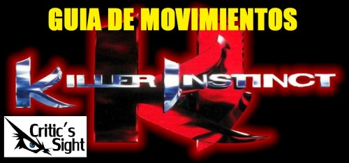 KILLER INSTINCT GUIA PORTADA CRITICSIGHT