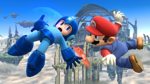 super smash bros wii u mega man y mario criticsight