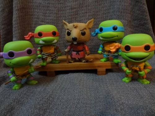 TMNT FUNKO WALL CRITICSIGHT