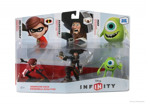 triple pack de figuras disney infinity criticsight