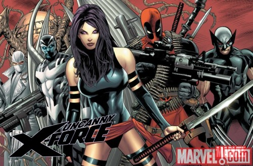 x force personajes criticsight
