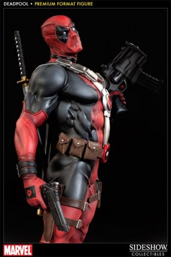 Deadpool figura Premium por sideshow collectibles criticsight imagen 1