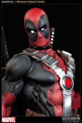 Deadpool figura Premium por sideshow collectibles criticsight imagen 4
