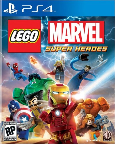LEGO Marvel Super Heroes portada ps4 criticsight