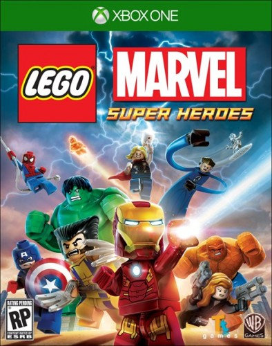 LEGO Marvel Super Heroes portada xbox one criticsight