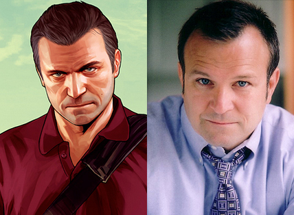 Michael fue interpretado por Ned Luke criticsight