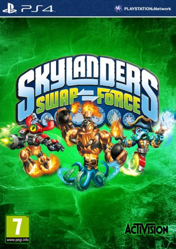 Skylanders Swap Force  portada ps4 criticsight