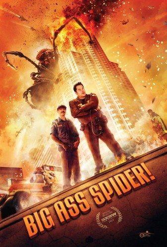 big ass spider poster criticsight