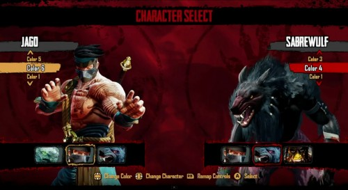 killer instinct colores y sus variantes criticsight
