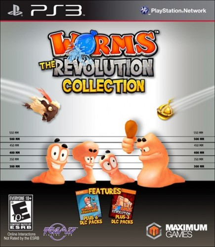 13-Worms Revolution Collection, Sale el 21 de Noviembre solo en PS3 criticsight
