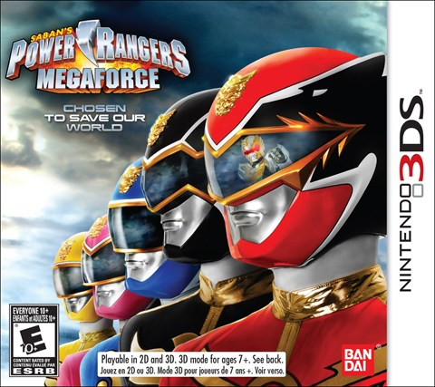 3-Power Rangers Megaforce, Sale el 5 de Noviembre solo en 3DS criticsight