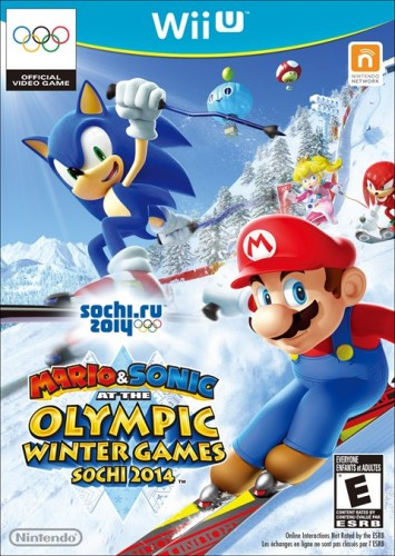 8-Mario And Sonic at the Sochi 2014 Olympic Winter Games, Sale el 15 de Noviembre solo en WII U criticsight