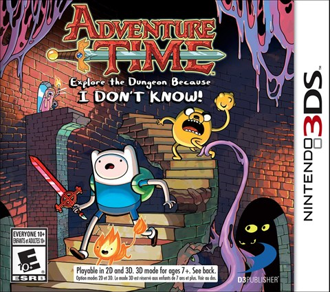 9-Adventure Time Explore the Dungeon Because I DON´T KNOW, Sale el 19 de Noviembre, también disponible en WII U, PS3 y XBOX 360 criticsight
