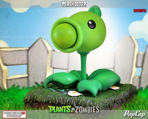 Figuras de Plants vs Zombies  por Gaming Heads criticsight imagen 1
