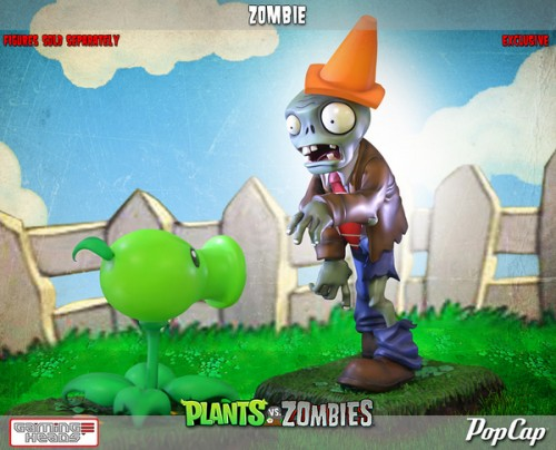 Figuras de Plants vs Zombies  por Gaming Heads criticsight imagen 2