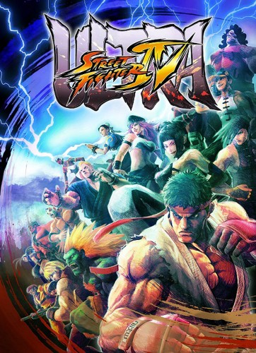 ultra street fighter 4 poster oficial criticsight
