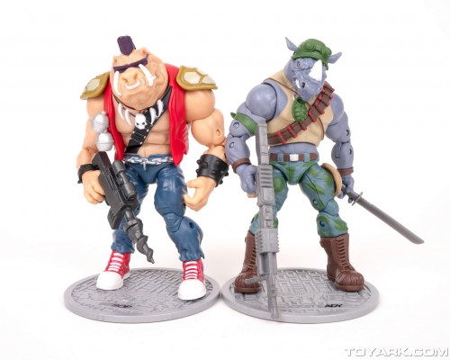 Bebop y Rocksteady Classics Photo Shoot por ToyArk criticsight imagen 10