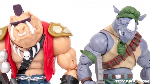 Bebop y Rocksteady Classics Photo Shoot por ToyArk criticsight imagen 11