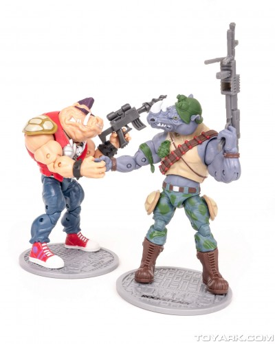 Bebop y Rocksteady Classics Photo Shoot por ToyArk criticsight imagen 12