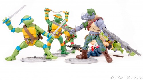 Bebop y Rocksteady Classics Photo Shoot por ToyArk criticsight imagen 16