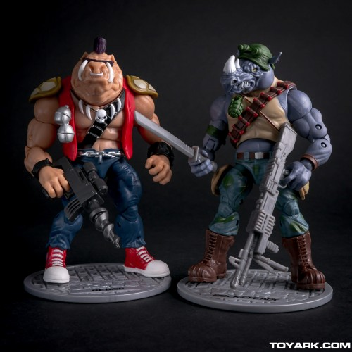 Bebop y Rocksteady Classics Photo Shoot por ToyArk criticsight imagen 18