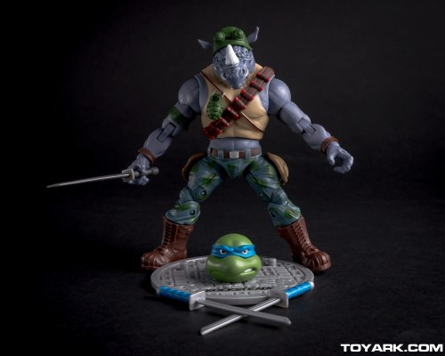 Bebop y Rocksteady Classics Photo Shoot por ToyArk criticsight imagen 4