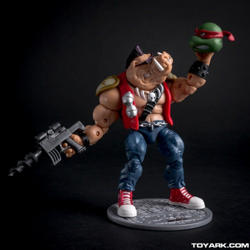 Bebop y Rocksteady Classics Photo Shoot por ToyArk criticsight imagen 7