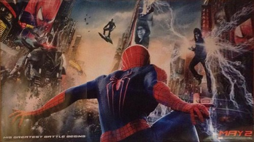 amazing spiderman 2 supuesto poster criticsight
