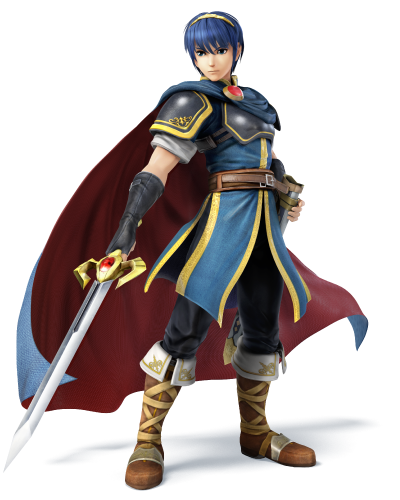 Personajes confirmados smash bros 2014 criticsight marth