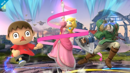 Personajes confirmados smash bros 2014 criticsight peach 4