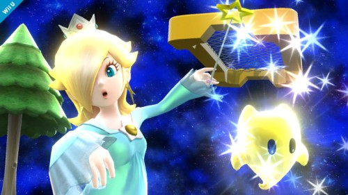 Personajes confirmados smash bros 2014 criticsight rosalina y destello 1