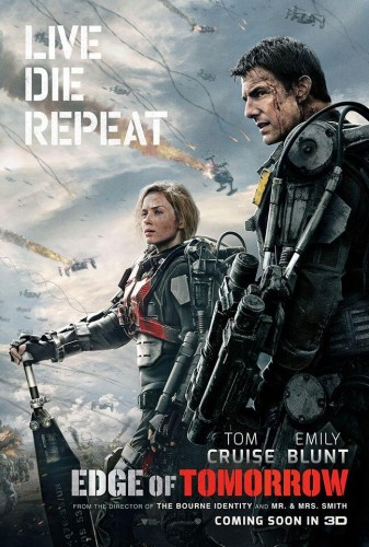 edge of tomorrow poster 2014 criticsight