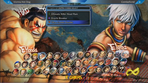 ultra street fighter iv seleccion de personajes criticsight