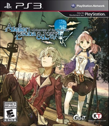 18-Atelier Escha and Logy Alchemists of the Dusk Sky sale el 13 de Marzo para PS3 criticsight