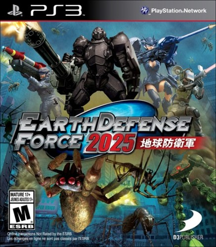 6-Earth Defense Force 2025 sale el 18 de Febrero para PS3 y XBOX 360 criticsight