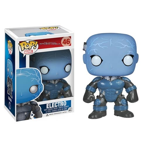 "Figuras Funko Pop de ""The Amazing Spiderman 2"" y Prototipos de ""Guardians of the Galaxy"".1"