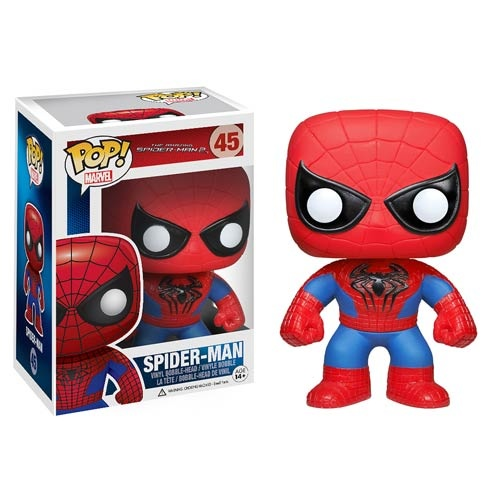 "Figuras Funko Pop de ""The Amazing Spiderman 2"" y Prototipos de ""Guardians of the Galaxy"".2"