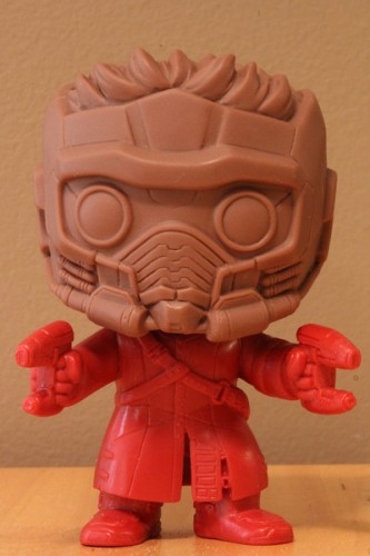 "Figuras Funko Pop de ""The Amazing Spiderman 2"" y Prototipos de ""Guardians of the Galaxy"".5"