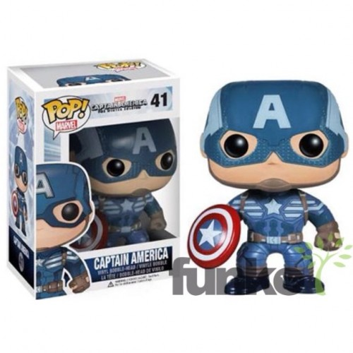 Figuras Funko Pop de Captain América The Winter Soldier criticsight imagen 1
