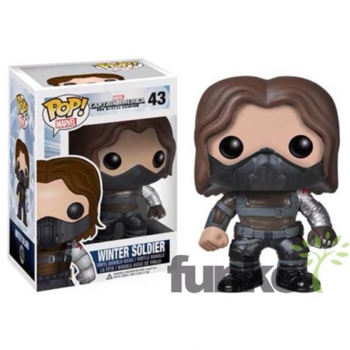 Figuras Funko Pop de Captain América The Winter Soldier criticsight imagen 3