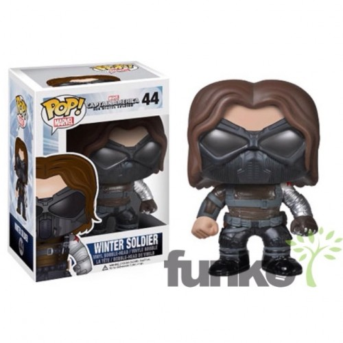 Figuras Funko Pop de Captain América The Winter Soldier criticsight imagen 4