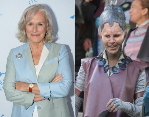 Glenn Close  interpretara a  la Comandante Rael criticsight
