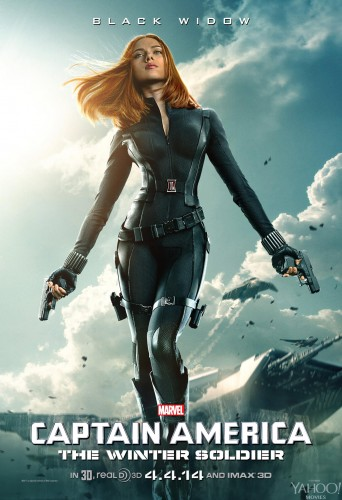 Nuevos Posters de Captain América The Winter Soldier criticsight black widow