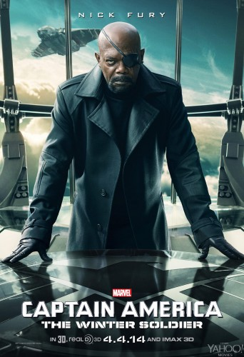 Nuevos Posters de Captain América The Winter Soldier criticsight nick fury