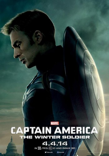 Nuevos Posters de Captain América The Winter Soldier criticsight  steve rogers