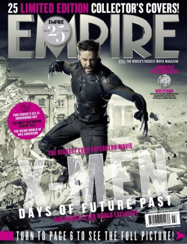 Portadas Exclusivas de Empire de X-Men Days of Future Past criticsight 1